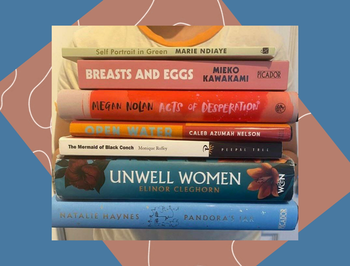 Hidden Bookshelf 7: 7 Books of 7 Months of 2021